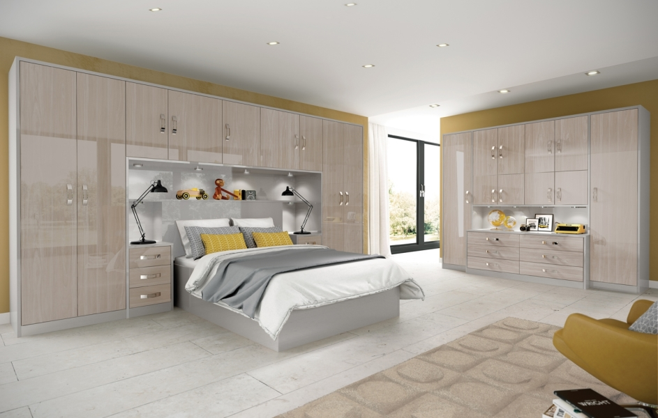 Designer fitted bedrooms